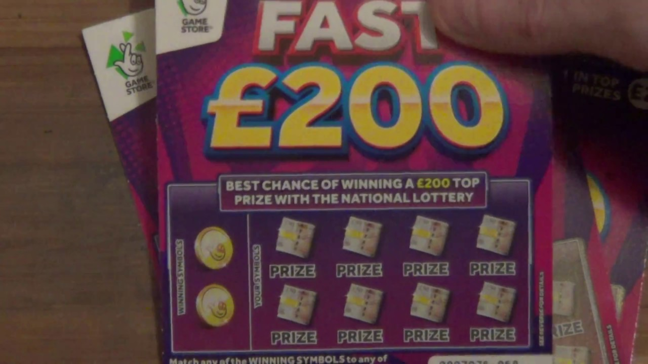 Fast 200 Scratchcard