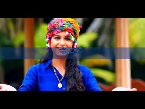 Char Bangdi Vadi Gadi -Lyrics English+Gujrati | Kinjal Dave | Gujatrati Song