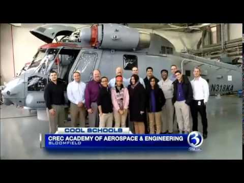 CREC Academy of Aerospace and Engineering  WFSB TV -Cool Schools