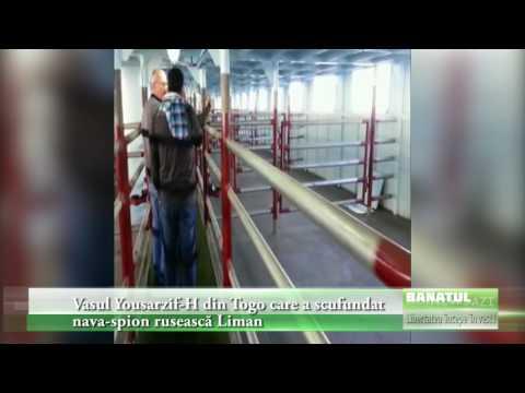 Vasul Yousarzif H din Togo care a scufundat nava spion rusească Liman