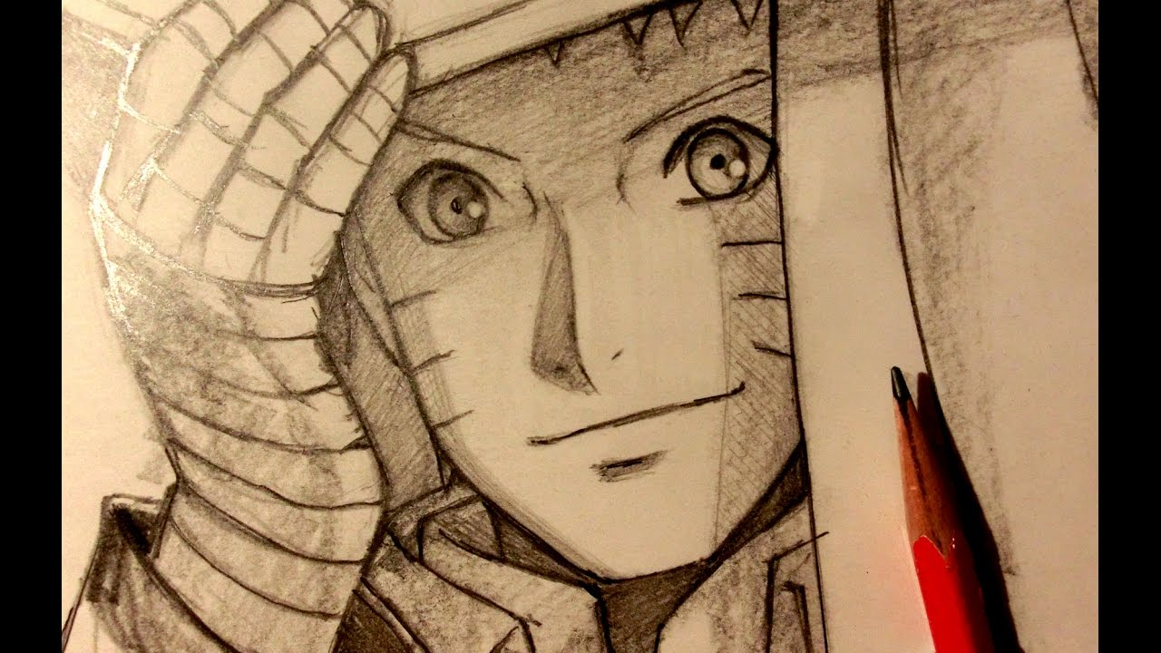 Asmr pencil drawing 51 hokage naruto request