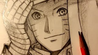 ASMR   Pencil Drawing 51   Hokage Naruto (Request)