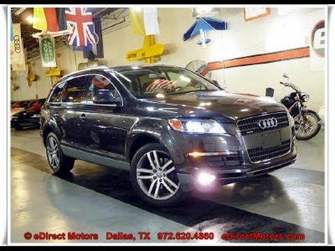 2008 Audi Q7 4 2 Quattro Premium Edirect Motors Youtube