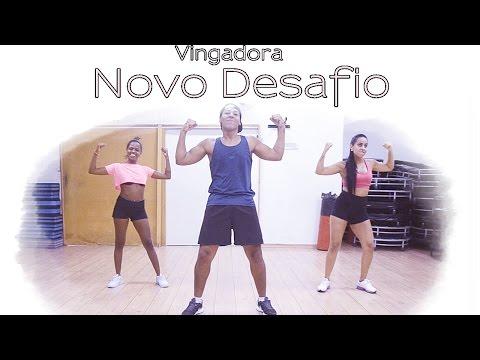 Banda Vingadora - Novo Desafio   Coreografia   Cia. Brown Andrade