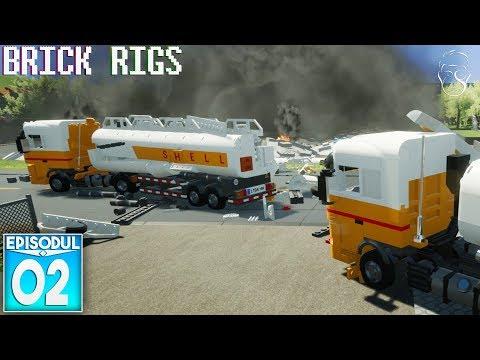 I-a explodat tirul | Brick Rigs
