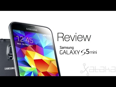 Samung Galaxy S5 mini, review en español