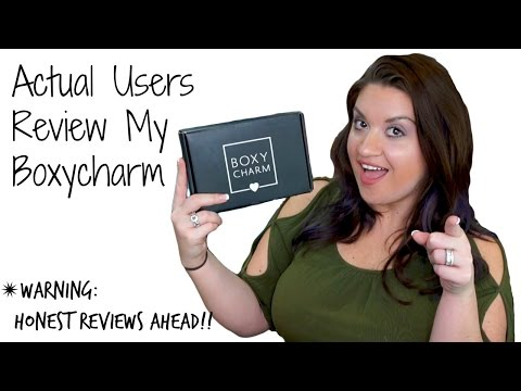 Actual Users Review My BOXYCHARM | HONEST REVIEWS January 2017