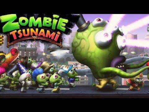 Zombie Tsunami Gameplay - Mega Zombie Attack