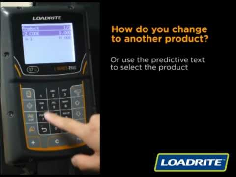 loadrite l2180 scale how to change products youtube rh youtube com Load Rite Loader Scales Load Rite