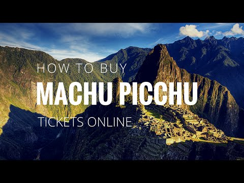 How To Buy Machu Picchu Tickets Online - Step-By-Step Guide