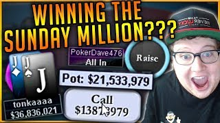 $215 SUNDAY MILLION FINAL TABLE ($150,000+ to 1st)
