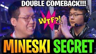SECRET vs MINESKI [Game 2] WTF DOUBLE COMEBACK TI9 Dota 2