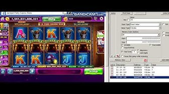 Eureka Reel Blast Slot hack with CE (Jackpot Party Casino)
