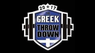 Greek Throwdown 2017 Finals Top 10 Elite Men
