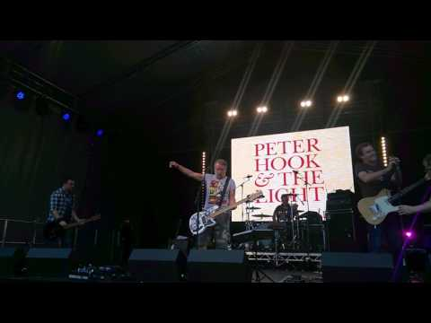 Peter Hook and the Light - Blue Monday - Live at Dartford Music Festival 16:07:2017