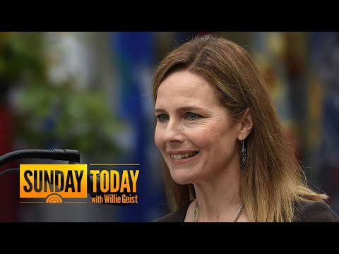 Trump Nominates Amy Coney Barrett To Replace Ruth Bader Ginsburg On The Supreme Court | Sunday TODAY