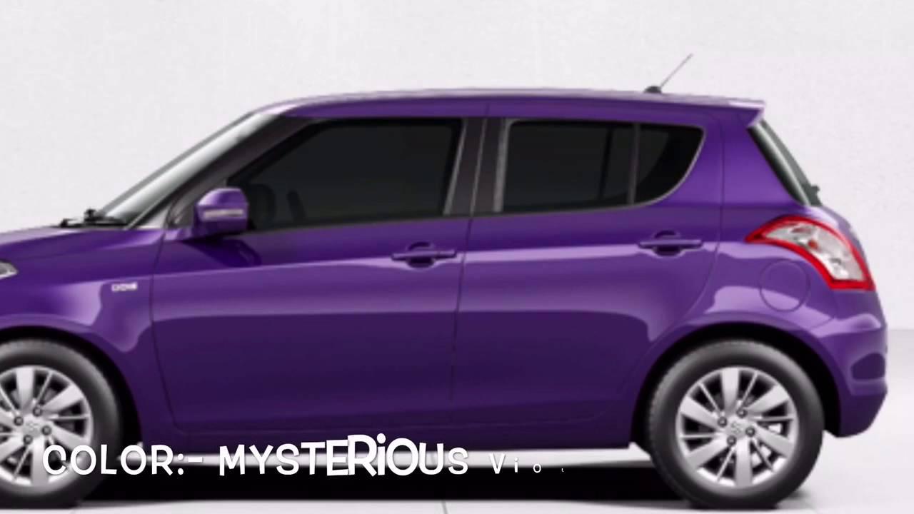 Maruti Suzuki Swift Colors Youtube