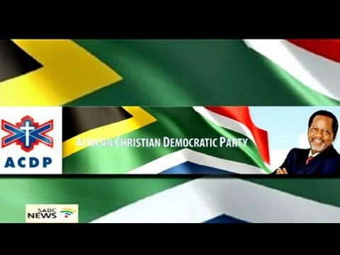 ACDP Elections Manifesto 2014