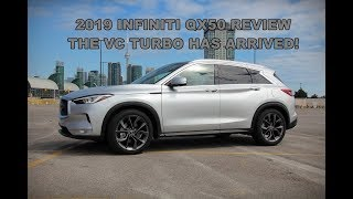 2019 Infiniti QX50 Review - Say Hello to the VC Turbo