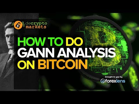 How To Do A Gann Analysis On Bitcoin | De Crypto Markets |