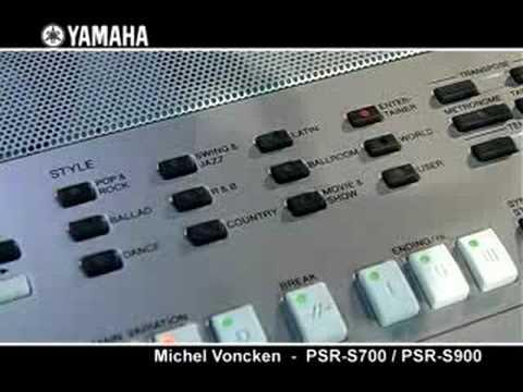 yamaha psr s700 psr s900 keyboards youtube. Black Bedroom Furniture Sets. Home Design Ideas