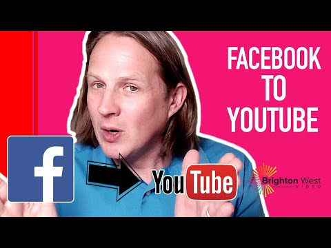 How To Add Facebook Live Videos To YouTube 2019
