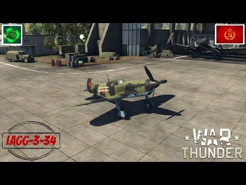 War Thunder: LaGG-3-34 Premium Russian Tier II Fighter - Review