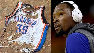 kevin durant regrets leaving okc why the f ck did you let me do this to my life