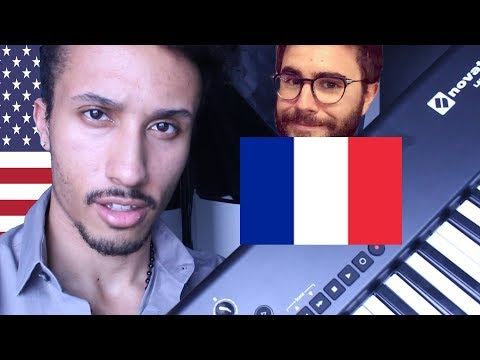 MAKING A WHOLE SONG IN FRENCH (merci cyprien!) 🇫🇷 🇺🇸