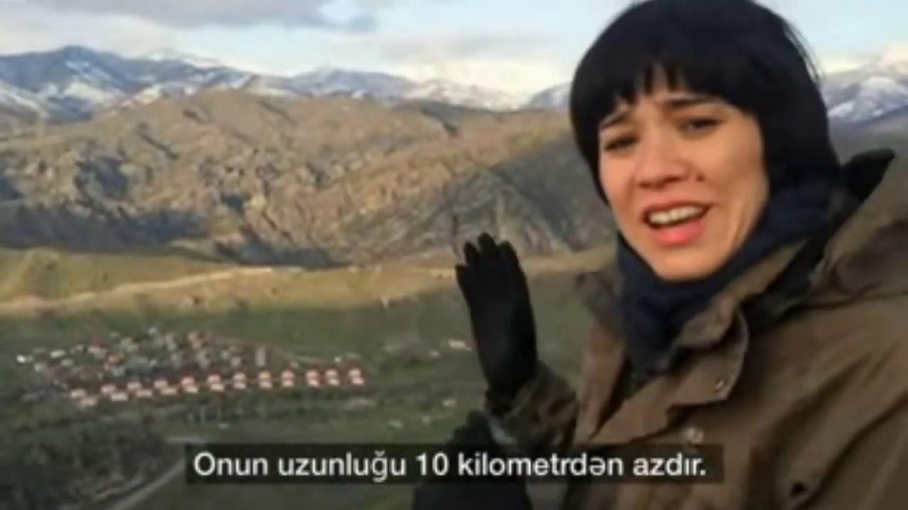 XARİCİ JURNALİST ERMƏNİSTANDAN LAÇINA KECİD YOLU CƏKİB.PEYKDƏN71.