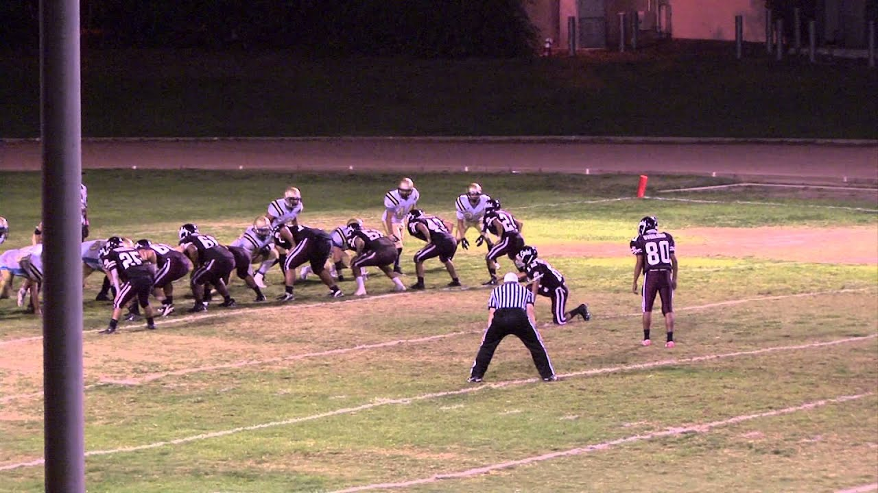 Fontana High School vs Bloomington football 2012 - YouTube