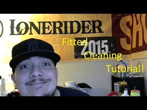 Tutorial- Cleaning My Fitted Hats #NewEra
