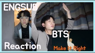 Gambar cover BTS (방탄소년단) 'Make It Right (feat. Lauv)' Official MV l Reaction!!