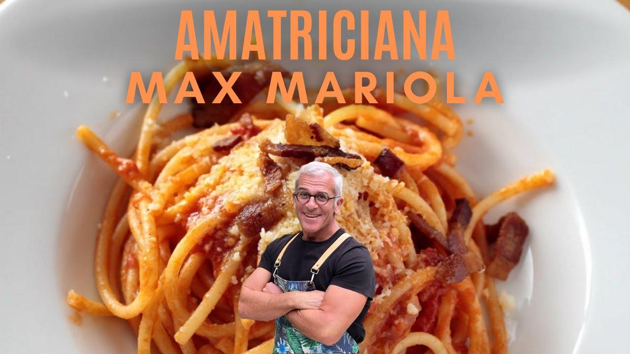 Ricetta Amatriciana Max.Pasta All Amatriciana La Ricetta Di Max Mariola Youtube