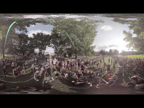 360 DEGREE VIDEO | Storming of the Arch 2018 | Juniata College