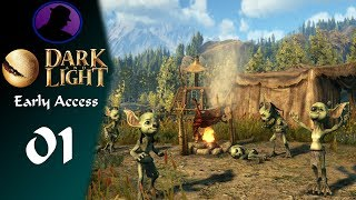 Let's Play Dark And Light - Early Access - Part 1 - NPCs Hurt!