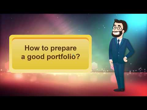 APEL A: How to prepare a good portfolio? Part 1