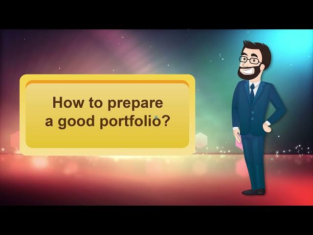 APEL A: How to prepare a good portfolio? Part 1