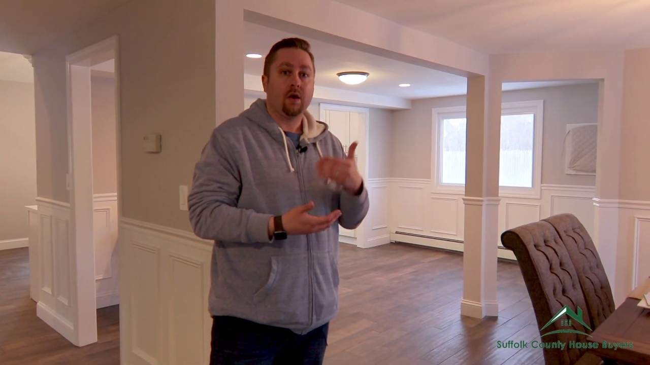 Walk-Through Of Our Rehab In Mount Sinai NY - Suffolk County House Buyers