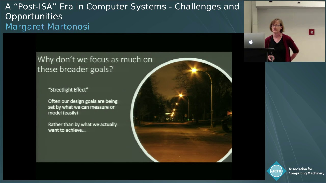 A Post Isa Era In Computer Systems Challenges And Opportunities Pldi 2018 Pldi Invited Speakers Pldi 2018