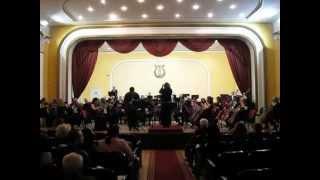 Andrija Mirković, klarinet / K. M. fon Veber - Koncert za klarinet i orkestar br.2, Es-dur, Op.74
