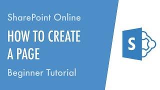 Wie Erstellen Sie eine Seite in der SharePoint-Online - Anfänger-Tutorial