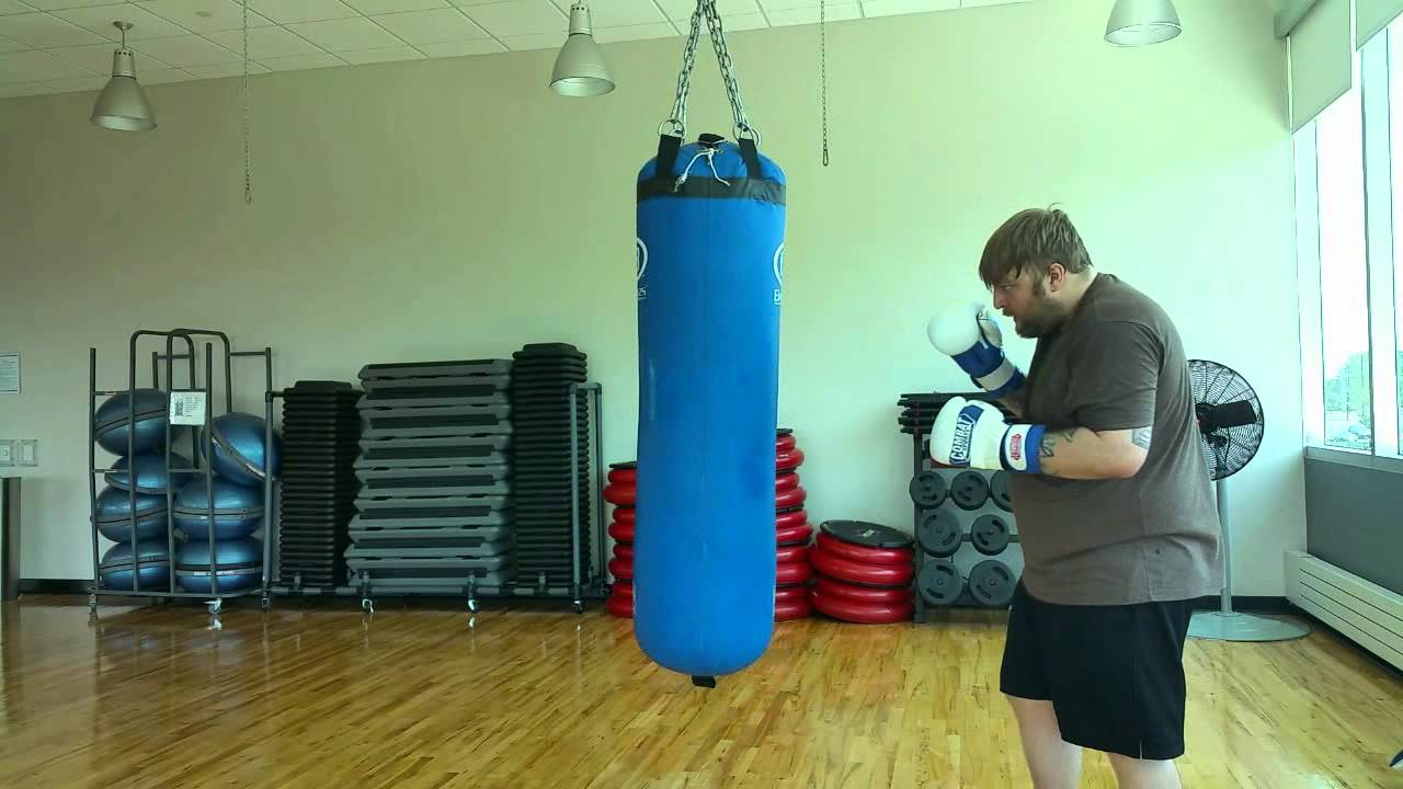 200 Lb Heavy Bag Kicks