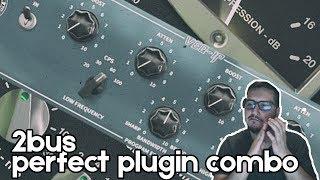 SSL compressor + Pultec EQ on my 2bus | Mixing Tutorial