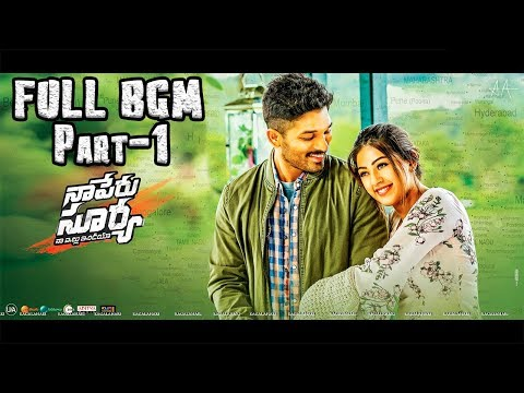 Naa Peru Surya Naa Illu India Full Movie BGM Part 1 - Naa Peru Surya BGMS Telugu BackgroundMusic