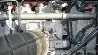 Jeep 4.0L IAC Valve (removed, cleaned & reinstalled)