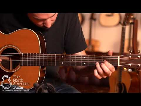 Bourgeois OM Vintage Deluxe AT Acoustic Guitar Played By Carl Miner