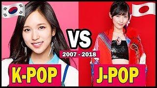 KPOP VS JPOP (2007 ~ 2017)