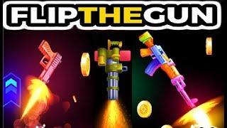 ФЛИП ЗЕ ГАН  симулятор летающего оружия , стреляй и летай в игре Flip the Gun - Simulator Game