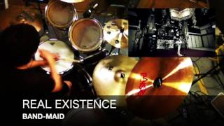 【Drum Cover】「REAL EXISTENCE - BAND-MAID」【叩いてみた】